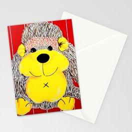 Cuddly Monkey , a primate playmate Stationery Cards
