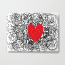 love for ever Metal Print