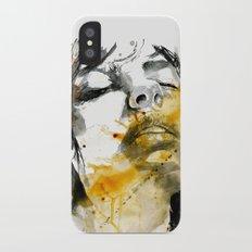 splash portraits Slim Case iPhone X