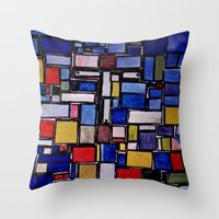 christ Throw Pillows featuring JESUS CHRIST! by JANUARY FROST