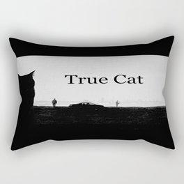 True Cat Rectangular Pillow