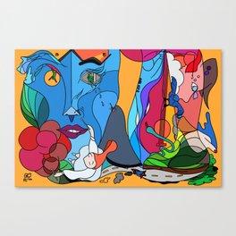 The weekend - Pop Colour Canvas Print