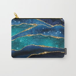 Marble Milky Way Carry-All Pouch