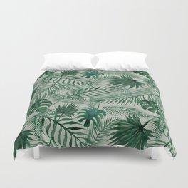Jungle Leaves pattern Duvet Cover