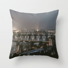Prague, Czechia IX Throw Pillow