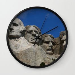 Four Former U S Presidents Wall Clock