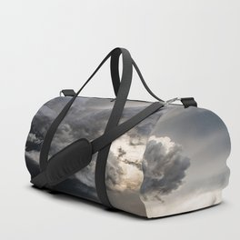 Fist of Fury - Storm Packs a Punch Over Oklahoma Plains Duffle Bag