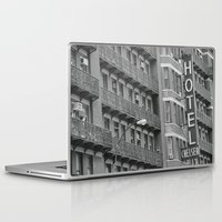 chelsea Laptop & iPad Skins featuring Chelsea Hotel by Maria Karas