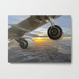 Airbus A-340 Metal Print