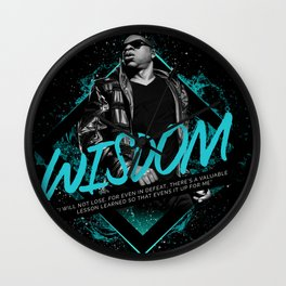 Jay Z Motivational Art and Quote Wall Clock