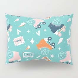 Roller skates pattern 001 Pillow Sham