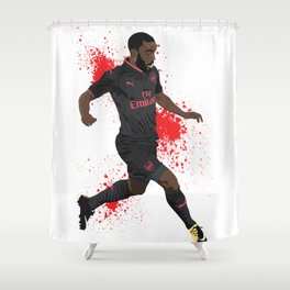 Alexandre Lacazette - Arsenal Shower Curtain