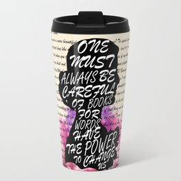 Words have the power to change us Travel Mug