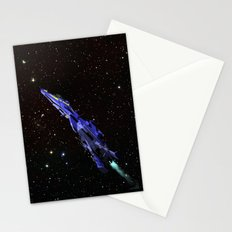 Fighter in Space Stationery Cards