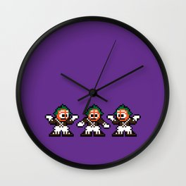 Pixelly Wonka Wall Clock