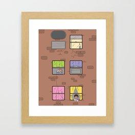 Connection Framed Art Print