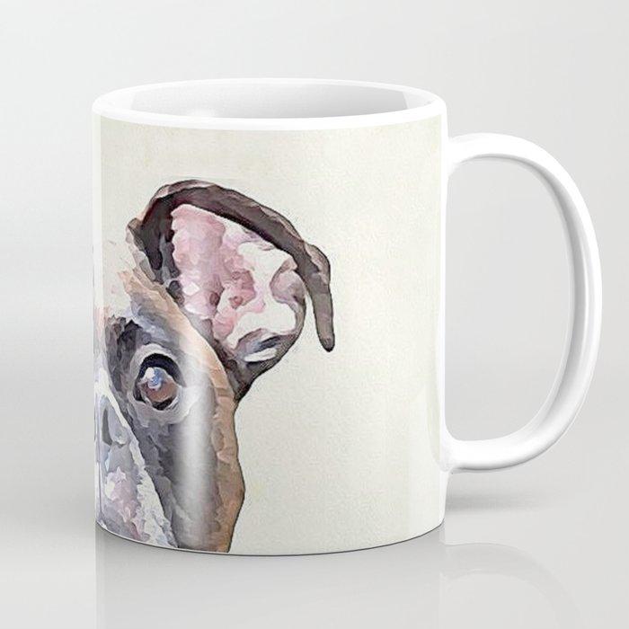 Brindle Boxer Dog Coffee Mug