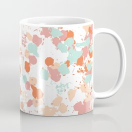 Freestyle Paint Summer Colors Coffee Mug
