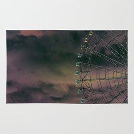 in the sky Rug
