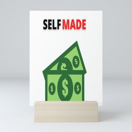 Self Made   Myself   Gifts for her   Gifts for him   Large Size   Rich   Opulence Mini Art Print