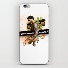 Are you lonesome tonight? iPhone & iPod Skin