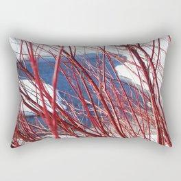 Winter still life Rectangular Pillow