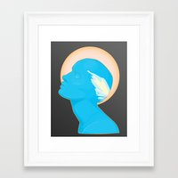 android Framed Art Prints featuring Android by Kris Hawkins