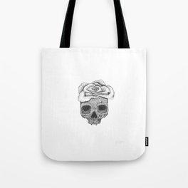 Death Rose Tote Bag