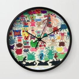 Trip Invaders Wall Clock
