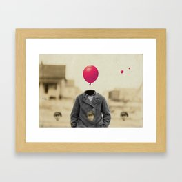 """The Right Decision"" Framed Art Print"
