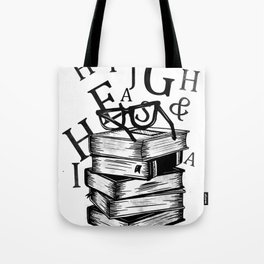 Book lovers reading t-shirt teachers librarians Tote Bag