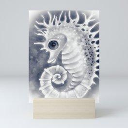 Seahorse Ghost Art Painting Mini Art Print