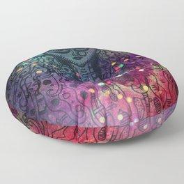 Durga the Goddess Floor Pillow