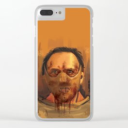 hannibal - the silence of the lambs Clear iPhone Case