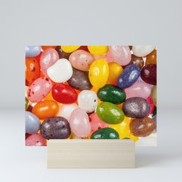 Cool colorful sweet Easter Jelly Beans Candy Mini Art Print