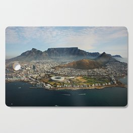 Cape Town aerial view II Cutting Board