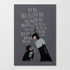 The Knights Who Say... Canvas Print