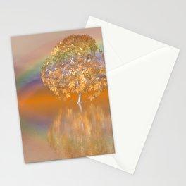 rainbow light Stationery Cards