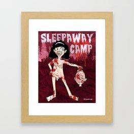 Sleepaway Camp Framed Art Print