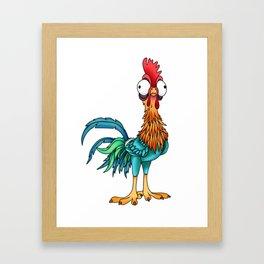 hei Framed Art Print