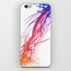 Crayon lines iPhone & iPod Skin