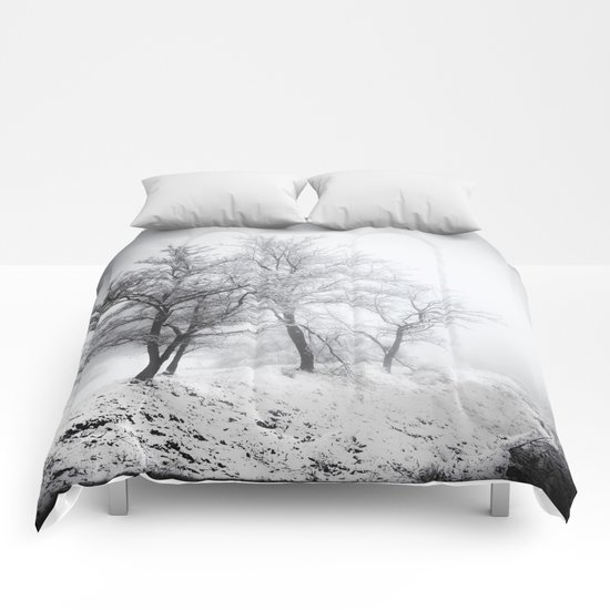 """Into the woods"". Mistery forest. Comforters"