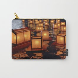 Japanese floating lantern Carry-All Pouch