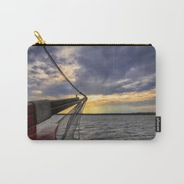 Sunset off the Bow Carry-All Pouch