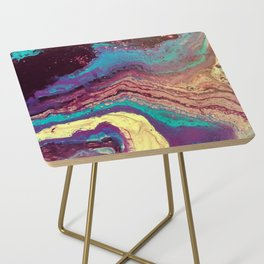 Geode Side Table