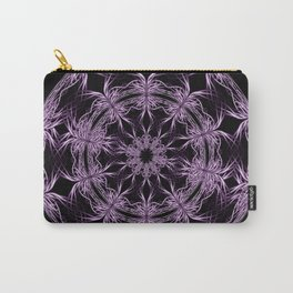 Mandala purple and black Carry-All Pouch