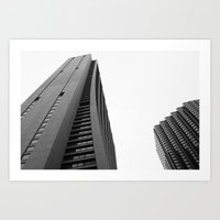 Chase Building Art Print