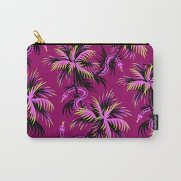 Snake Palms - Purple Carry-All Pouch