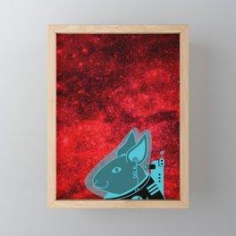Space Rabbit Framed Mini Art Print