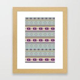 Lovely Tribal Framed Art Print